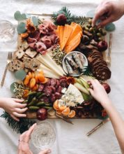Fall Harvest Cheeseboard / Bev Cooks