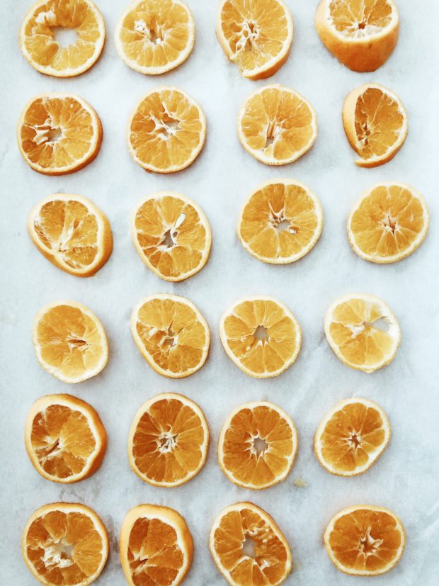 drying oranges / bev cooks