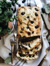 Chocolate Chip Ricotta Loaf / Bev Cooks