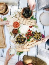 Antipasti Picnic - At Home! / Bev Cooks