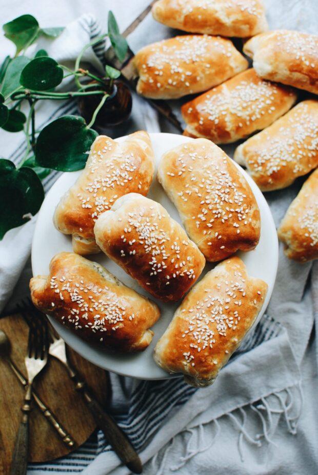 Cheesy Sausage Biscuit Rolls / Bev Cooks