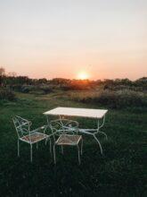 fall sunset / bev cooks