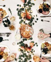 thanksgiving spread / bev cooks