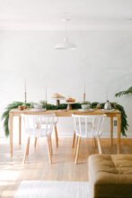 In-Home Holiday Styling with Golden and Pine / Bev Cooks