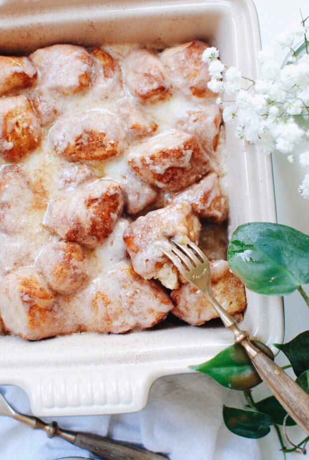 Cinnamon Biscuit Bake / Bev Cooks
