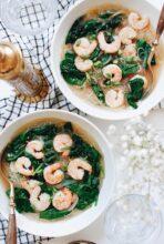 Seafood Noodle Soup / Bev Cooks