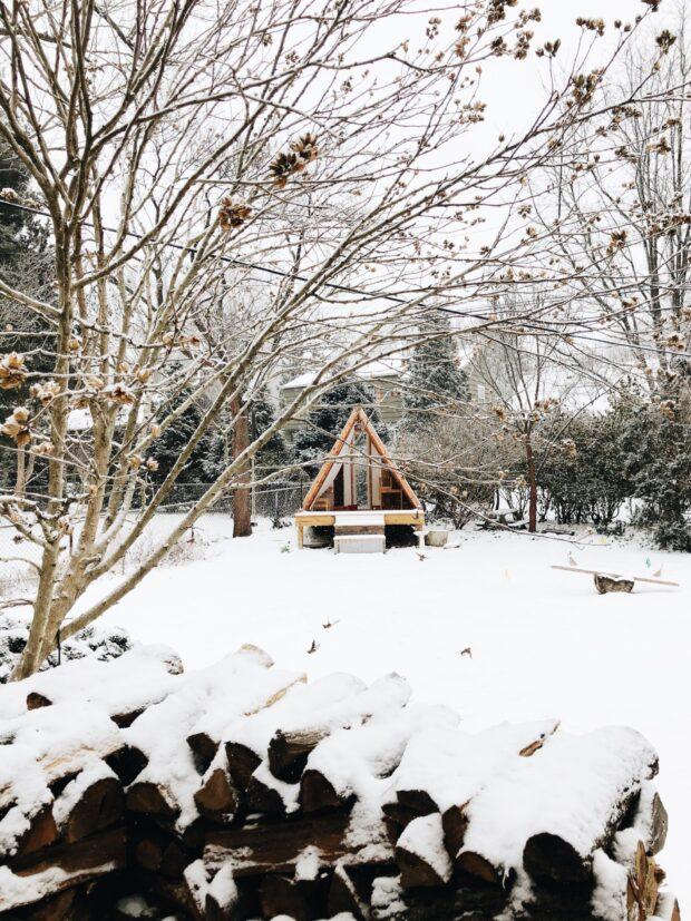 snowy playhouse / bev cooks