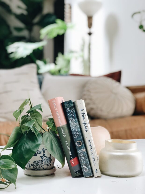 Bev's Imaginary Book Club: In Five Years, Early Morning Riser, and Midnight at the Blackbird Café / bev cooks